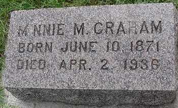 GRAHAM, MINNIE M. - Sioux County, Iowa | MINNIE M. GRAHAM