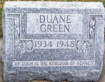 GREEN, DUANE - Sioux County, Iowa | DUANE GREEN