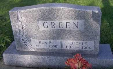 GREEN, LUCYLE - Sioux County, Iowa | LUCYLE GREEN