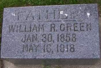 GREEN, WILLLIAM R. - Sioux County, Iowa | WILLLIAM R. GREEN