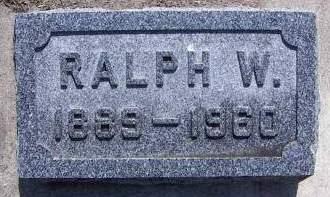 GREGG, RALPH W. - Sioux County, Iowa   RALPH W. GREGG