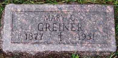 GREINER, MARY C. - Sioux County, Iowa | MARY C. GREINER
