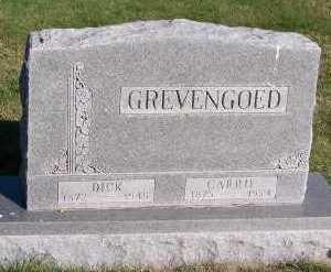 GREVENGOED, DICK - Sioux County, Iowa | DICK GREVENGOED