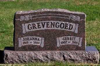 GREVENGOED, GERRIT - Sioux County, Iowa   GERRIT GREVENGOED