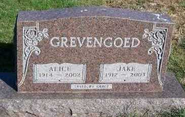 GREVENGOED, JAKE - Sioux County, Iowa | JAKE GREVENGOED