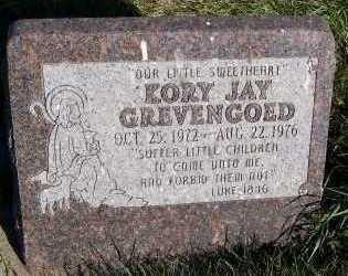 GREVENGOED, KORY JAY - Sioux County, Iowa   KORY JAY GREVENGOED