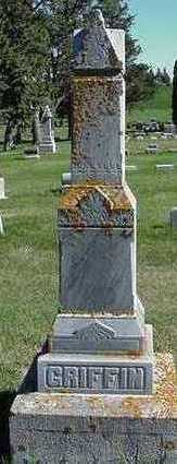 GRIFFIN, HEADSTONE - Sioux County, Iowa | HEADSTONE GRIFFIN