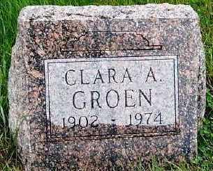 GROEN, CLARA A. - Sioux County, Iowa | CLARA A. GROEN