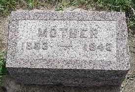 GROEN, MOTHER  D.1943 - Sioux County, Iowa | MOTHER  D.1943 GROEN