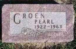 GROEN, PEARL - Sioux County, Iowa   PEARL GROEN