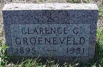 GROENEVELD, CLARENCE G. - Sioux County, Iowa | CLARENCE G. GROENEVELD