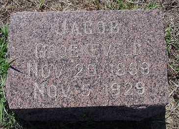 GROENEVELD, JACOB - Sioux County, Iowa | JACOB GROENEVELD