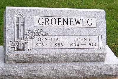 GROENEWEG, JOHN H. - Sioux County, Iowa | JOHN H. GROENEWEG