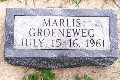 GROENEWEG, MARLIS - Sioux County, Iowa   MARLIS GROENEWEG