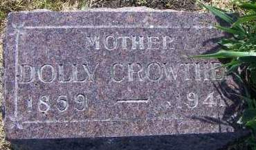 CROWTHER, DOLLY - Sioux County, Iowa | DOLLY CROWTHER