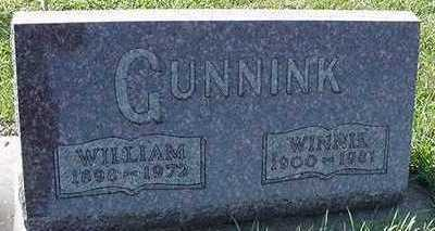 GUNNINK, WILLIAM - Sioux County, Iowa | WILLIAM GUNNINK