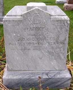 GUNTER, BEATRICE A. (DAU OF JOHN D. & C.) - Sioux County, Iowa | BEATRICE A. (DAU OF JOHN D. & C.) GUNTER