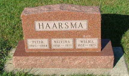 HAARSMA, NELVINA - Sioux County, Iowa | NELVINA HAARSMA