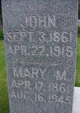 HAINES, MARY M. - Sioux County, Iowa | MARY M. HAINES