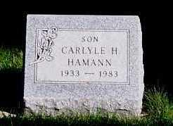 HAMANN, CARLYLE H. - Sioux County, Iowa | CARLYLE H. HAMANN