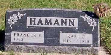 HAMANN, KARL J. - Sioux County, Iowa | KARL J. HAMANN