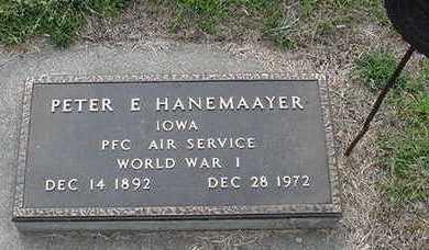 HANEMAAYER, PETER E. - Sioux County, Iowa | PETER E. HANEMAAYER