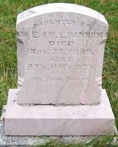 HANNUM, EVA MAUDE (DAU OF W.E & M.L.) - Sioux County, Iowa   EVA MAUDE (DAU OF W.E & M.L.) HANNUM