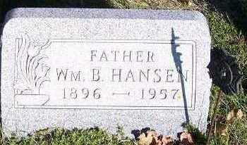 HANSEN, WM. B. - Sioux County, Iowa | WM. B. HANSEN