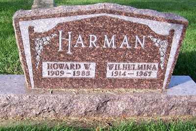HARMAN, WILHELMINA - Sioux County, Iowa | WILHELMINA HARMAN