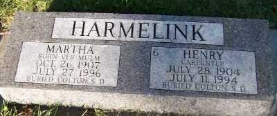 HARMELINK, MARTHA - Sioux County, Iowa | MARTHA HARMELINK