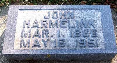 HARMELINK, JOHN - Sioux County, Iowa | JOHN HARMELINK