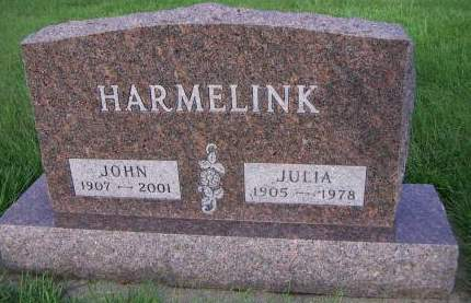HARMELINK, JULIA - Sioux County, Iowa | JULIA HARMELINK