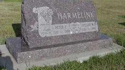 HARMELINK, LILLIAN W. - Sioux County, Iowa | LILLIAN W. HARMELINK