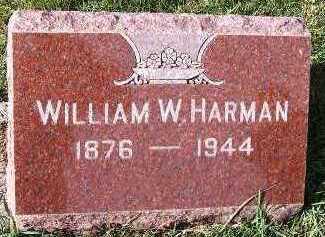 HARMAN, WILLIAM W. - Sioux County, Iowa | WILLIAM W. HARMAN