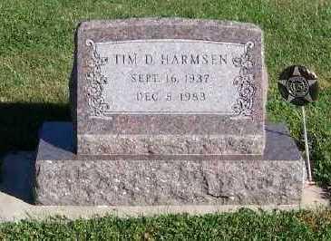 HARMSEN, TIM D. - Sioux County, Iowa | TIM D. HARMSEN