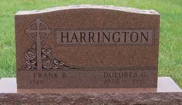 HARRINGTON, DOLORES G. - Sioux County, Iowa | DOLORES G. HARRINGTON
