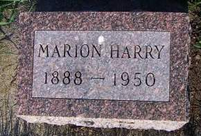 HARRY, MARION - Sioux County, Iowa | MARION HARRY