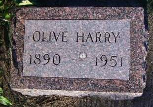HARRY, OLIVE - Sioux County, Iowa | OLIVE HARRY