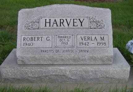 HARVEY, VERLA M. - Sioux County, Iowa   VERLA M. HARVEY