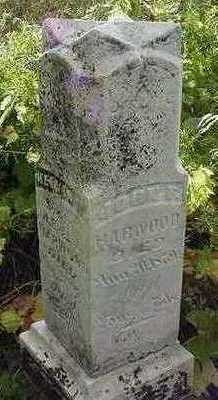 HARWOOD, JOHN F. - Sioux County, Iowa | JOHN F. HARWOOD