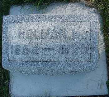 HASTINGS, HOLMAN K. - Sioux County, Iowa | HOLMAN K. HASTINGS
