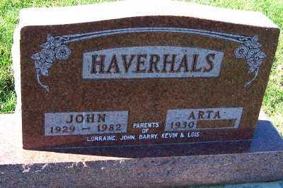 HAVERHALS, JOHN - Sioux County, Iowa | JOHN HAVERHALS