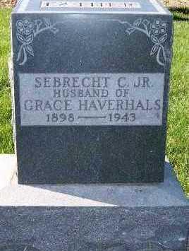 HAVERHALS, SEBRECT C. JR. - Sioux County, Iowa | SEBRECT C. JR. HAVERHALS