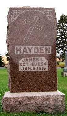 HAYDEN, JAMES L. - Sioux County, Iowa | JAMES L. HAYDEN