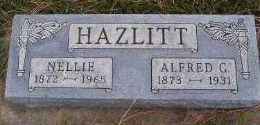 HAZLITT, NELLIE - Sioux County, Iowa | NELLIE HAZLITT