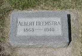 HEEMSTRA, ALBERT - Sioux County, Iowa | ALBERT HEEMSTRA