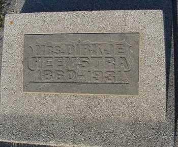 HEEMSTRA, DIRKJE (MRS. SIEBRAN) - Sioux County, Iowa | DIRKJE (MRS. SIEBRAN) HEEMSTRA