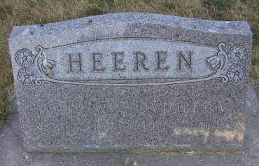 HEEREN, LOUIS W. - Sioux County, Iowa | LOUIS W. HEEREN