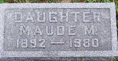 HEFFERNAN, MAUDE M. - Sioux County, Iowa | MAUDE M. HEFFERNAN