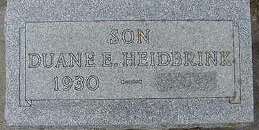 HEIDBRINK, DUANE E. - Sioux County, Iowa | DUANE E. HEIDBRINK